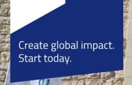 Create global impact. Start today.